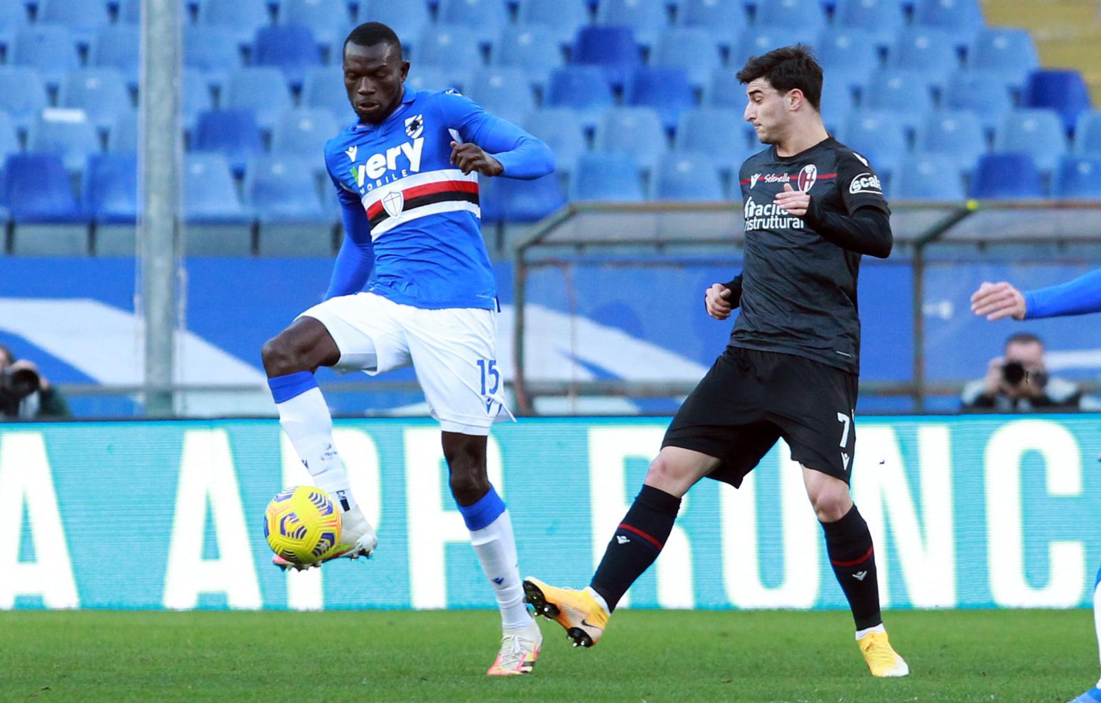 Sampdoria, per Colley ritorno in gruppo
