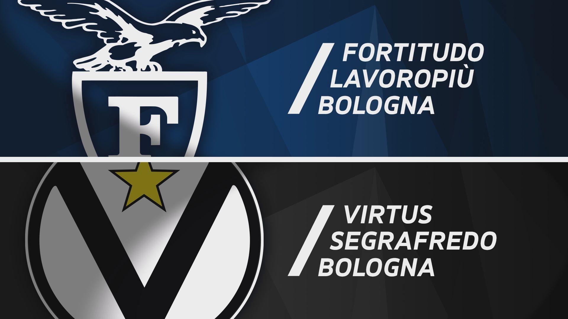 Fortitudo Lavoropiù Bologna - Virtus Segafredo Bologna 71-91