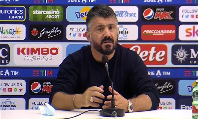 """Gattuso: """"Questa sconfitta ci deve far riflettere"""""""
