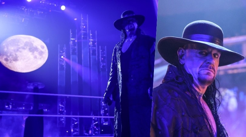 The Undertaker annuncia l'addio a WWE Survivor Series 2020
