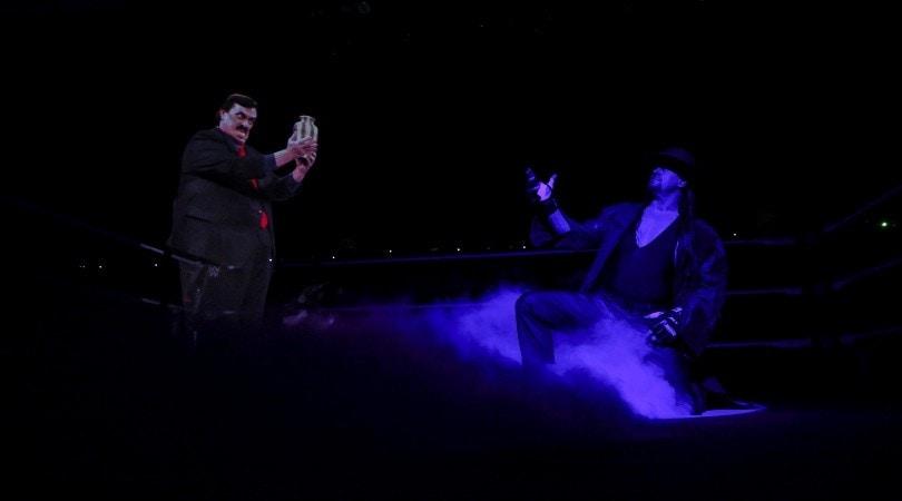 Undertaker annuncia il ritiro a WWE Survivor Series 2020