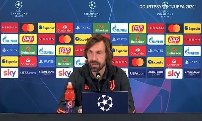 """Pirlo: """"Dybala è pronto. Ho solo quattro difensori"""""""