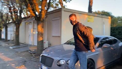 """Roma, Dzeko a Villa Stuart per le visite: """"Sto bene, contento sia finita"""""""