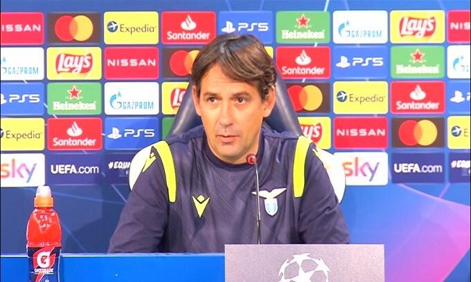 """Simone Inzaghi: """"Vogliamo passare i gironi. Lo Zenit è forte"""""""