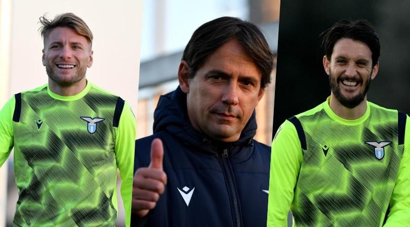 Lazio pronta per lo Zenit: quanti sorrisi a Formello!