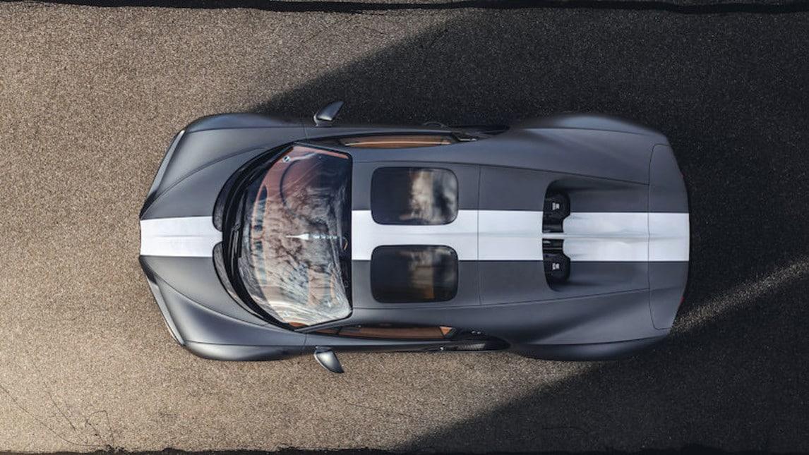 Bugatti Chiron Sport Les Légendes du Ciel: gli scatti