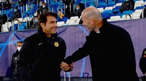 """Inter, Zidane elogia Conte: """"Un leader nato, ma il mio Real vincerà"""""""