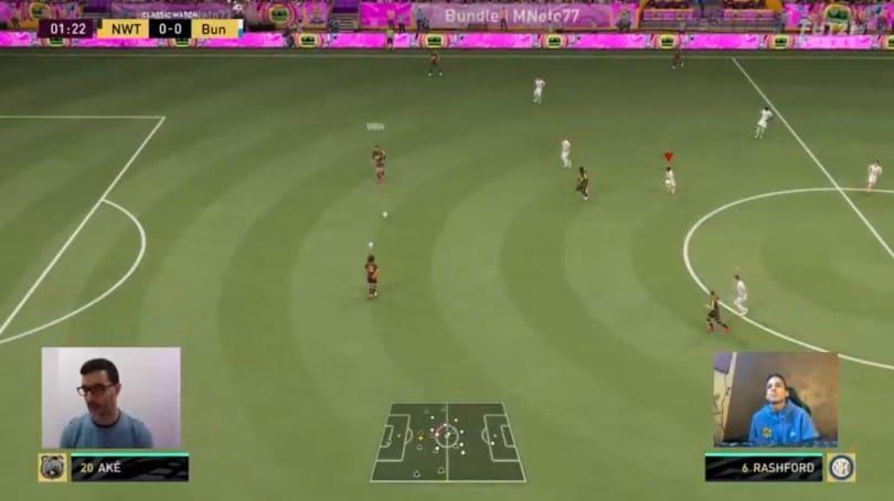 Milan Games Week: Inter MNeto77 al Corriere dello Sport per una sfida a Fifa 21