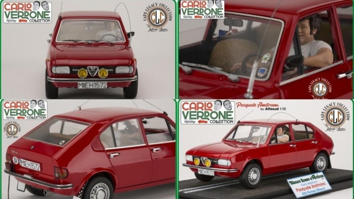 """Le auto di Carlo Verdone, la collezione fedelmente riprodotta da """"Infinite Statue"""" IMMAGINI"""