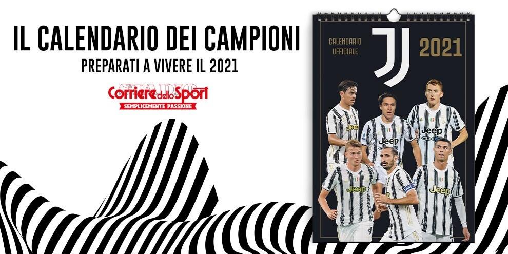 Vivi Il 2021 Con Il Calendario Ufficiale Della Juventus