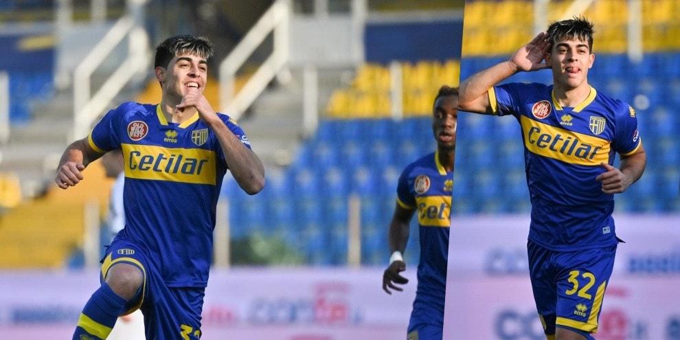 Brunetta show, il Parma elimina il Cosenza dalla Coppa Italia