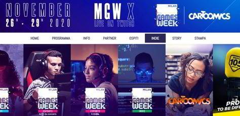 Milan Games Week, segui l'evento in streaming sul nostro sito