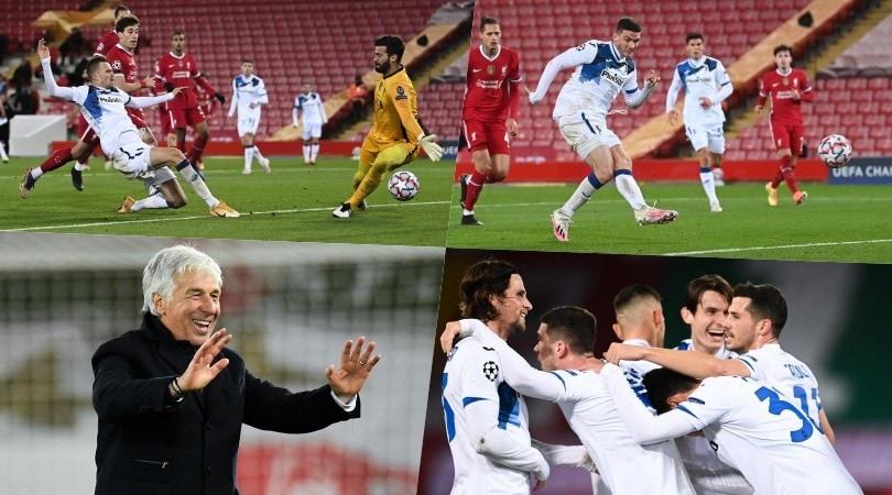 Atalanta show, neanche Alisson la ferma: Gasperini stende il Liverpool!
