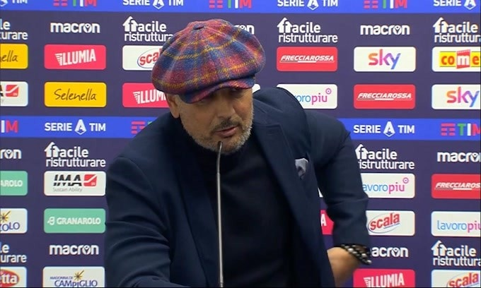 """Mihajlovic: """"Abbiamo fatto di tutto per perdere"""""""