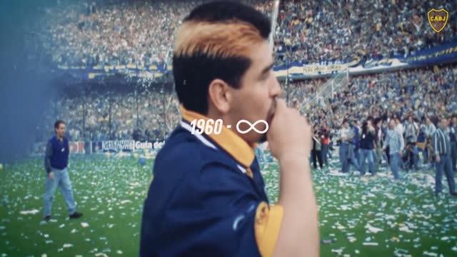 Per il Boca Diego è infinito, il tributo a Maradona