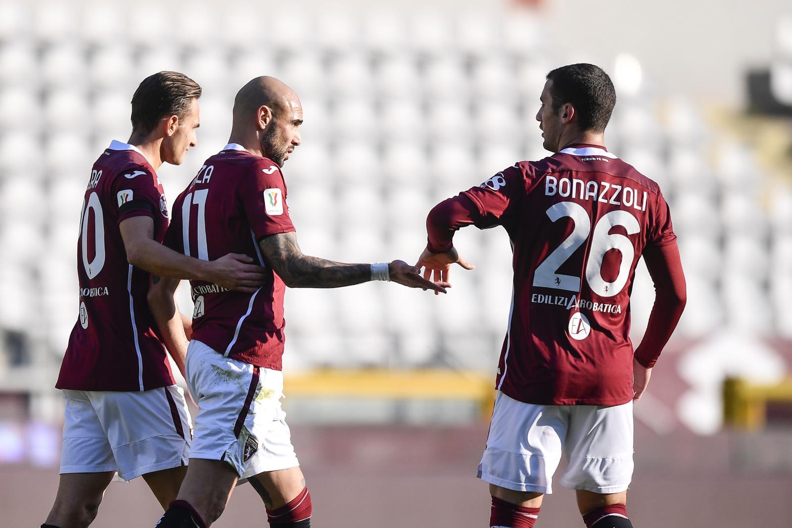 Coppa Italia, Zaza e Bonazzoli gol: il Torino vola agli ottavi