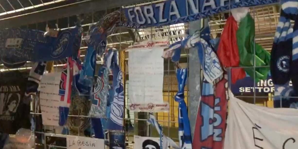 Tutta Napoli in pellegrinaggio allo stadio Maradona