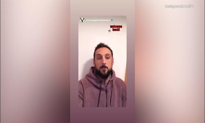 """Belinelli torna alla Virtus Bologna: """"Sono super contento"""""""
