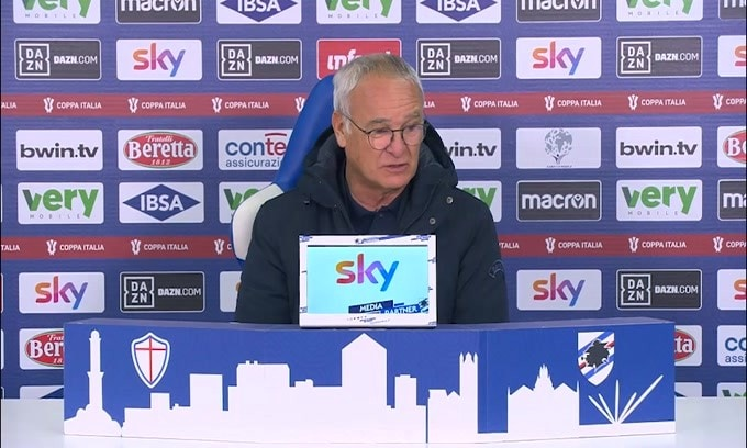 "Ranieri: ""Abbiamo regalato i gol al Genoa"""