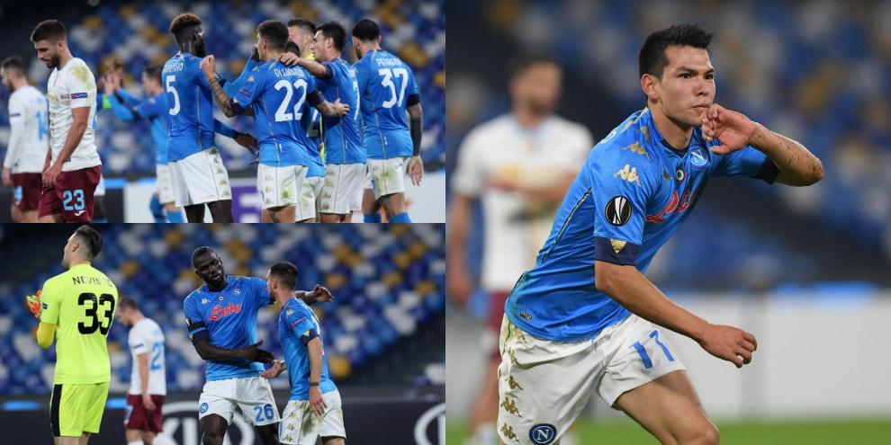 Napoli, vittoria e priorità nel girone di Europa League. Gattuso batte Rijeka