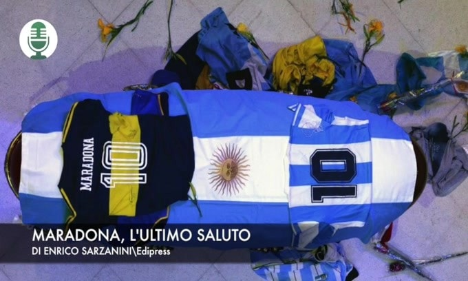 Maradona, l'ultimo saluto