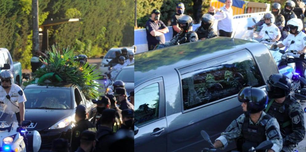 Funerale Maradona, le immagini del corteo funebre in Argentina