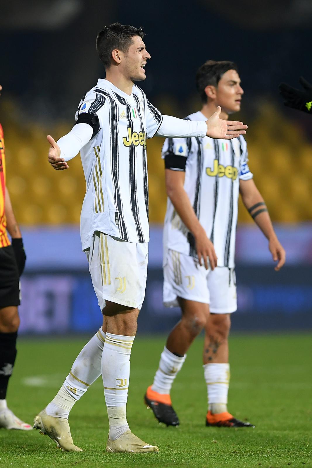 Juve, Morata perde i nervi! Espulso dopo il fischio finale con il Benevento
