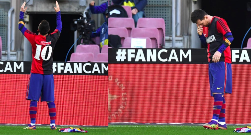 Messi, omaggio a Maradona: segna ed esulta con la 10 dei Newell's Old Boys