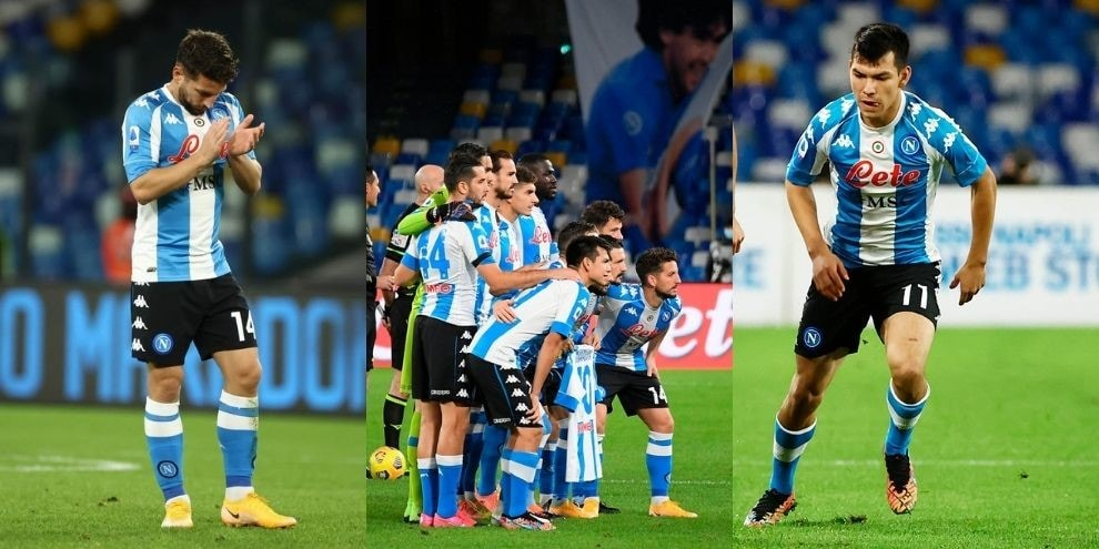 Maradona, il Napoli si veste da Argentina: una maglia speciale per Diego