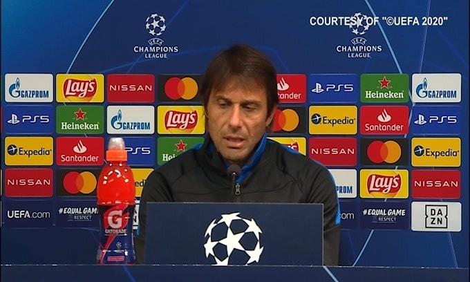 """Conte: """"Per restare in vita l'Inter deve vincere"""""""