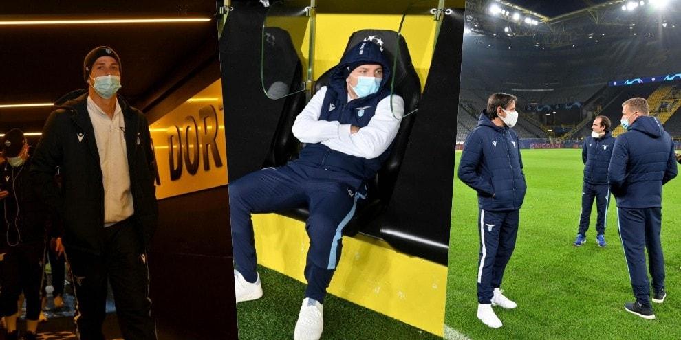 Lazio, walk around prima del Dortmund: per Immobile ricordi da ex