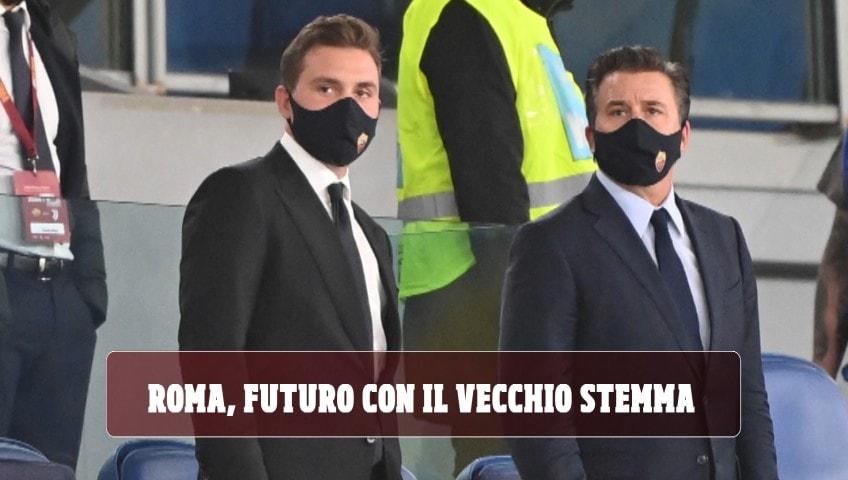 Roma, futuro con il vecchio stemma: i Friedkin ascoltano i tifosi. Ecco dove sarà