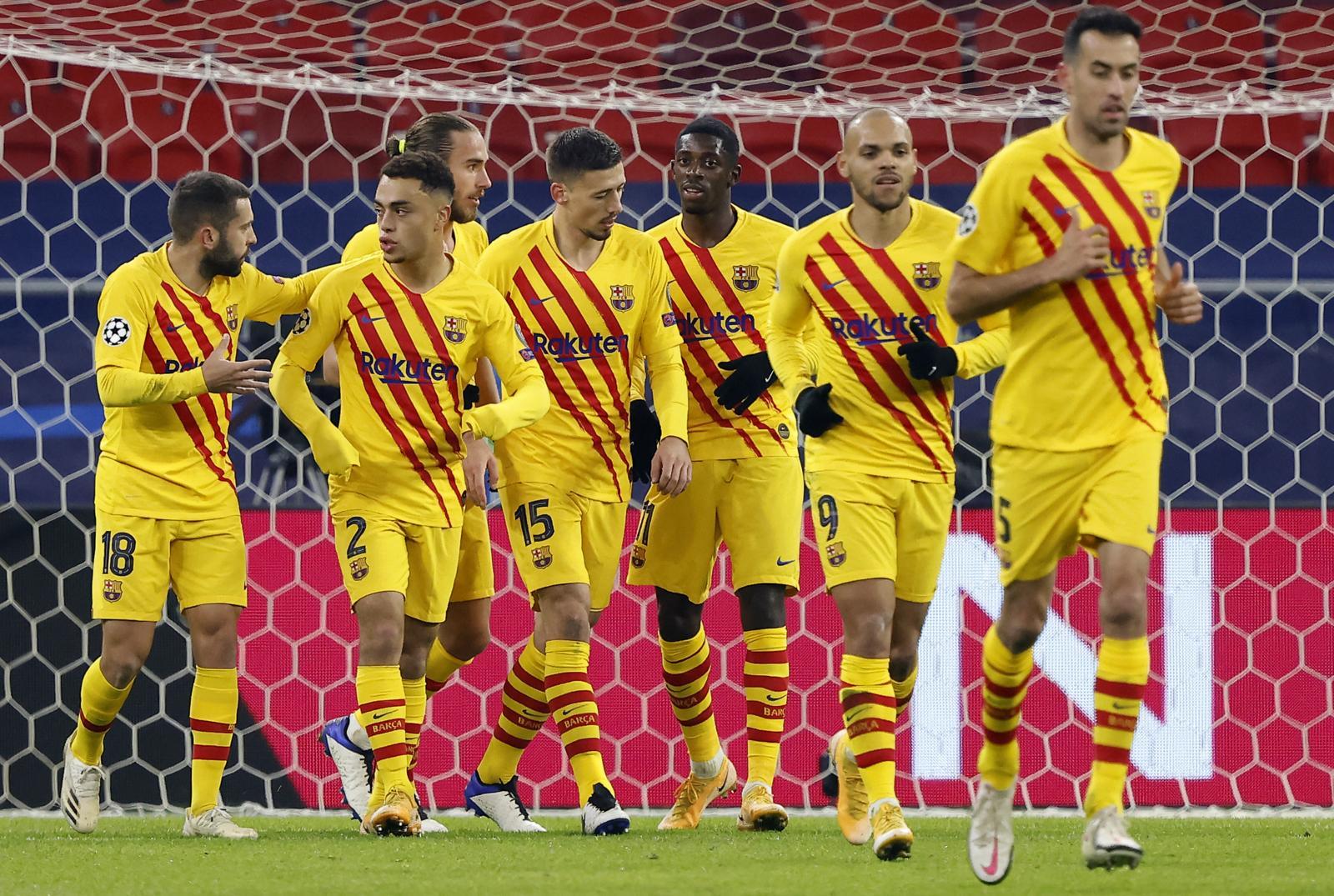 Barcellona, tutto facile contro il Ferencvaros. Bruges a -2 dalla Lazio