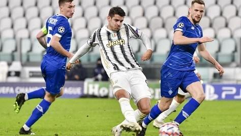 Juventus-Dinamo Kiev 3-0, il tabellino