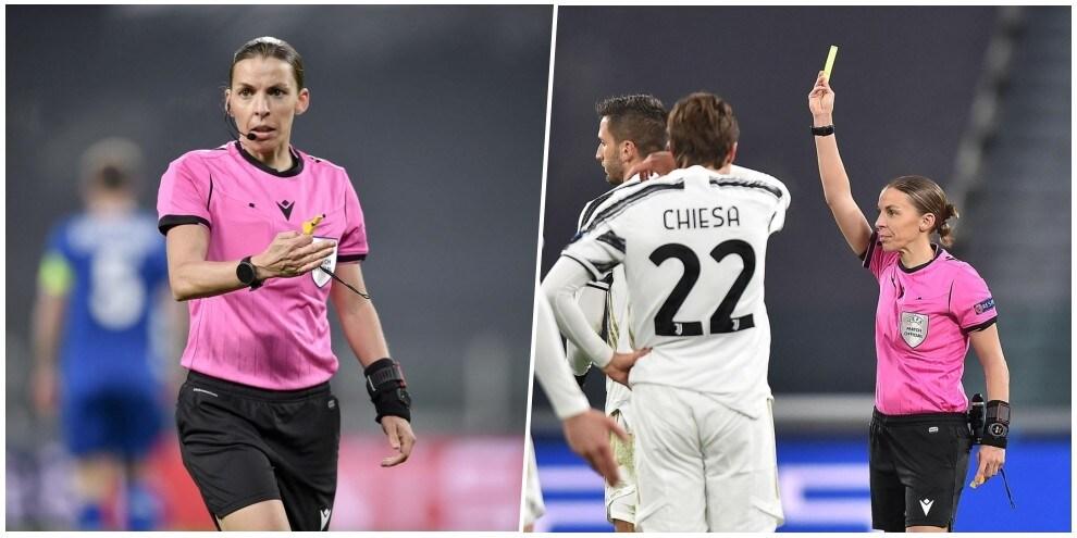 Frappart, quanta personalità per l'arbitro donna di Juve-Dinamo Kiev