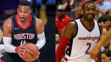 Nba, accordo Wizards-Rockets: scambio clamoroso tra Westbrook e Wall