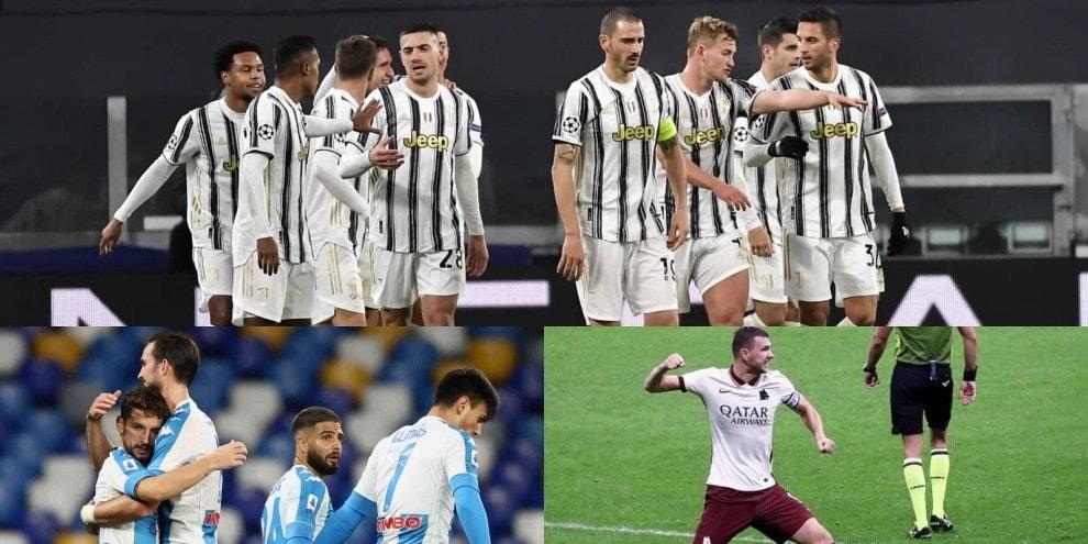 Ranking Uefa, la nuova top 20: Juve sul podio, ci sono anche Roma e Napoli