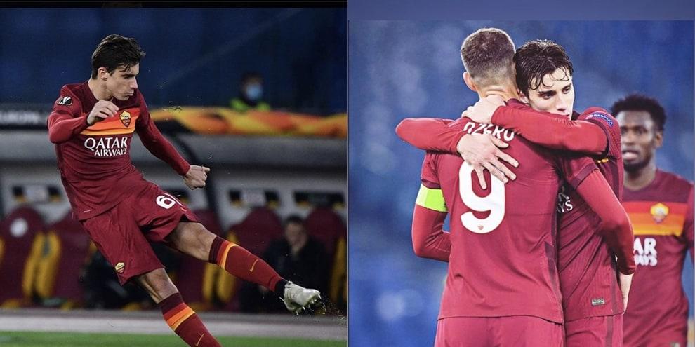 Calafiori esulta sui social per il suo primo gol. E' boom di like