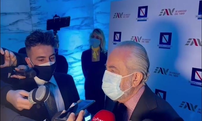 "De Laurentiis: ""Juve-Napoli? Presentato ricorso, siamo sereni"""