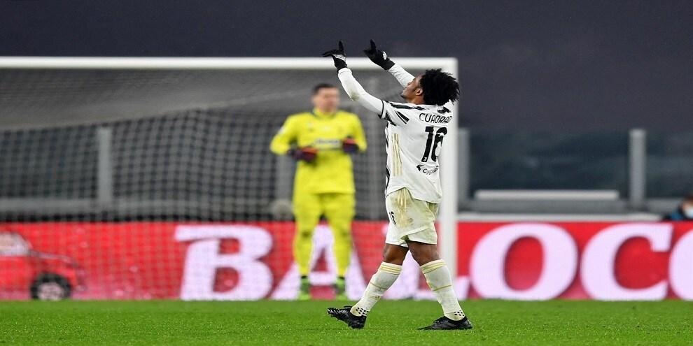 Juve-Torino, gol di Cuadrado annullato: la sequenza