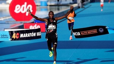 Valencia Marathon, doppietta keniana: Chebet e Jepchirchir