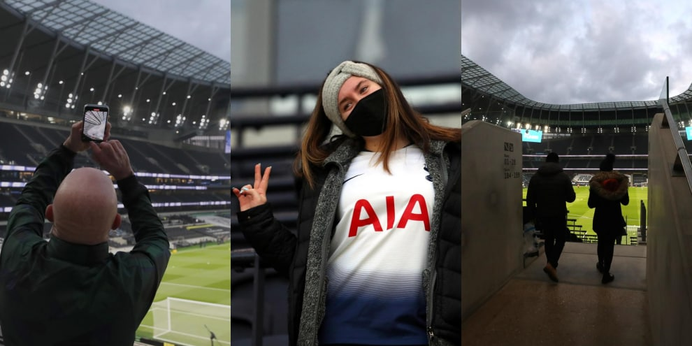Tottenham-Arsenal: i tifosi tornano allo stadio per il derby di Londra