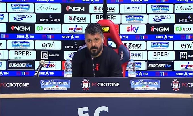 """Gattuso: """"Mi è piaciuto lo spirito"""""""