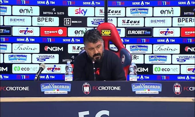 """Gattuso: """"Il rinnovo non è mia priorità"""""""