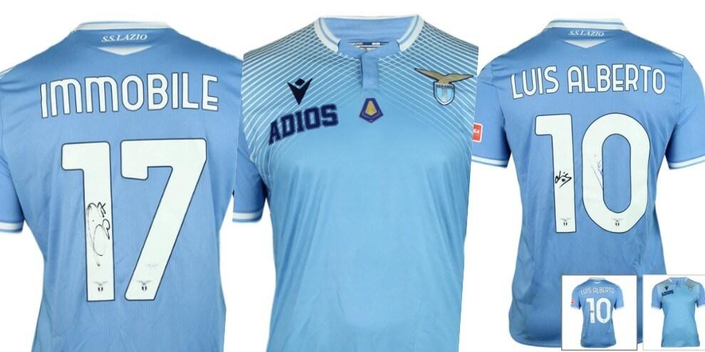 Lazio, fine dell'asta per le maglie: la classifica delle più costose