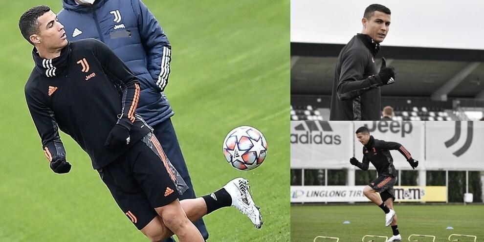 Cristiano Ronaldo punta Messi: show alla vigilia di Barcellona-Juve