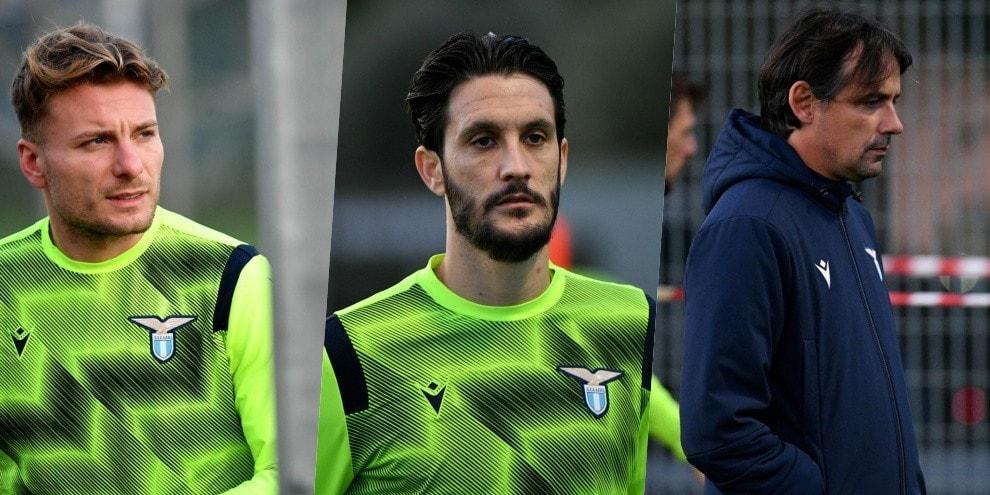 Lazio, alta concentrazione in allenamento: Inzaghi prepara i suoi