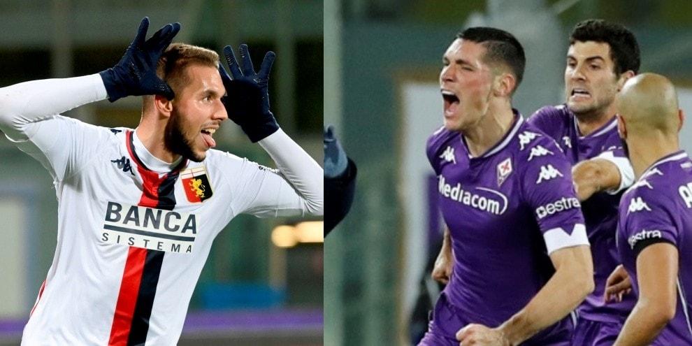 Fiorentina-Genoa, finale di fuoco: pari di Milenkovic al 97'
