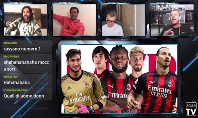 """Cassano: """"Maldini è una leggenda, Gazidis invece.."""""""