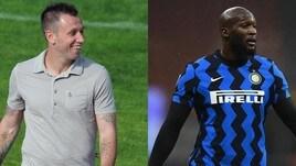 """Inter, Cassano attacca Lukaku: """"Ha due merluzzi al posto dei piedi"""""""